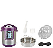 Cooks Essentials 8qt Extra Tall Digital Pressure Cooker - K44765