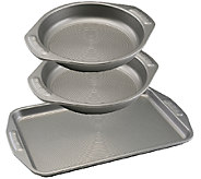 Circulon Nonstick Bakeware Three-Piece Cookie and Cake Set - K304666
