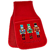 Cooking Buddy Embroidered Holiday Towel & Pot Holder by Campanelli - K42566