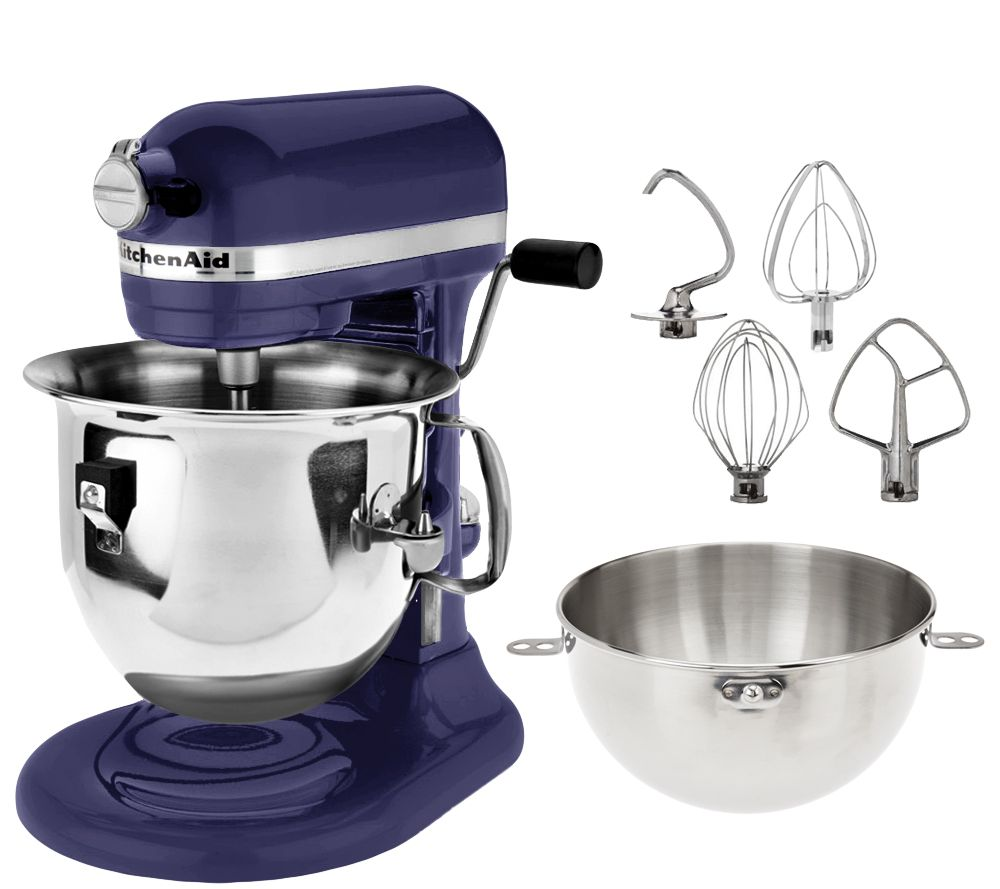 KitchenAid 6 Qt. 575 Watt Bowl Lift Stand Mixer W/ Combi Whip   Page 1 U2014  QVC.com