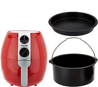 Emeril 3.75 Qt. Rapid Air Fryer w/ 2-in-1 Basket & Accessories