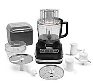 KitchenAid 11 Cup Food Processor w/ Exact Slice & 3 Cup Mini Bowl - K47066