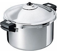 Kuhn Rikon Stainless 8 qt Duromatic Family Style Stockpot - K306867