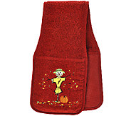 Cooking Buddy Embroidered Harvest Towel & Pot Holder by Campanelli - K42567