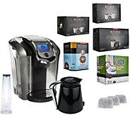 Keurig 2.0 K550 Coffee Maker w/ 36 K-Cup Pods, 12 K-Carafe Pods & Filters - K43267