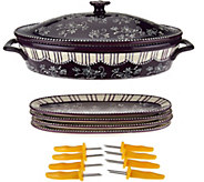 Temp-tations Floral Lace Corn Cob Baker Set - K43567