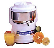 The Original Omega Model 1000 Stainless Steel Juicer - K116568