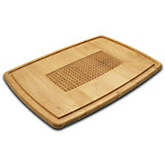 Solid Maple Pyramid Cutting Board 15 x 21 x 3/4- Reversibl - K129968