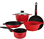 Cooks Essentials 6-piece Stackable Cookware Set - K35868