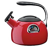 Cuisinart PerfecTemp 3-Qt Teakettle - Red Porcelain Enamel - K125569