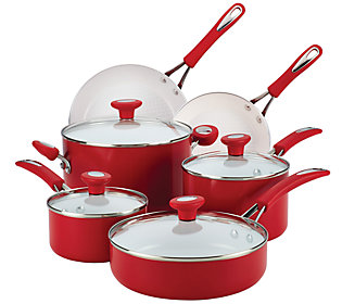 Silverstone Ceramic Cxi Nonstick 12 Piece Cookware Set