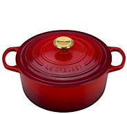 Le Creuset Cerise 5.5-qt Signature Round Dutch Oven - K305369