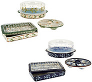 Temp-tations Old World or Floral Lace 7pc Multifunctional Set - K44369