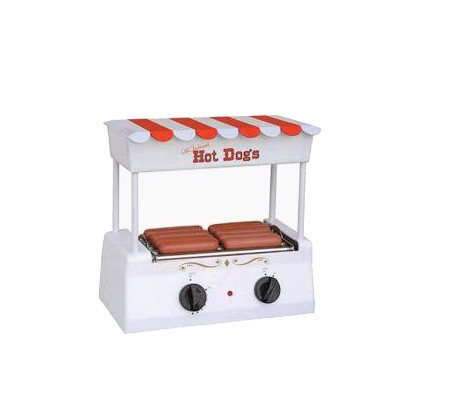 Nostalgia Electrics Old-Fashioned Hot Dog Roller Grill/Griddl