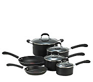 T-Fal 10-Piece Nonstick Cookware Set - K130370