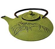 Old Dutch Moss Green Cast Iron 26-oz Teapot - K301070