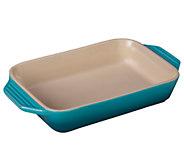 Le Creuset Signature 10.5 x 7 Stoneware Rectangular Dish - K303270