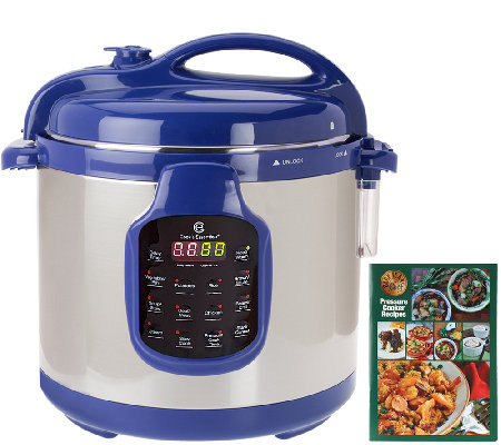 Cook S Essentials 6 Qt Round Digital S S Pressure Cooker