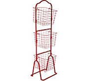Cooks Essentials 3-Tier Wire Basket Rack - K45270