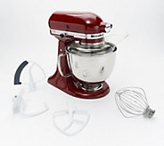 KitchenAid 5-qt 325W Tilt Head Stand Mixer with Flex Edge - K46570