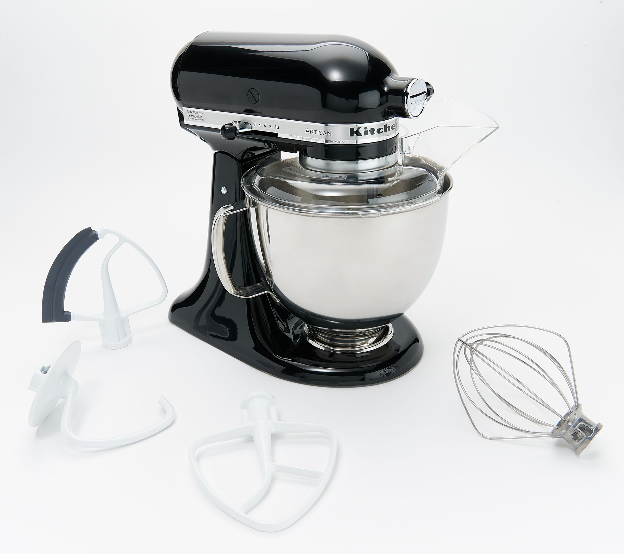 KitchenAid 5-qt 325W Tilt Head Stand Mixer with Flex Edge - Page 1 ...