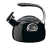 Cuisinart PerfecTemp 3-Qt Teakettle - Black Porcelain Enamel - K125571
