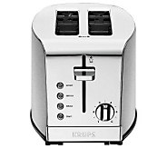 Krups Breakfast Set 2-Slice Toaster - Silvertone - K302271