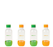 SodaStream Set of 4 1/2-Liter Plastic Bottles - K303771