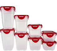 Lock & Lock 8 piece Nestable Storage Set - K44471