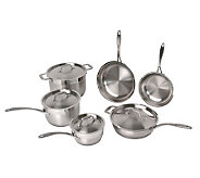 Earthchef by BergHOFF Copper Clad 10-Piece Cookware Set - K300172