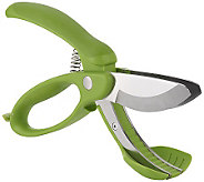 Trudeau Toss-and-Chop Salad-Chopping Scissors - K302172
