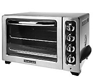 KitchenAid 12 Countertop Convection Oven w/Broil Pan & Crumb Tray - K34872