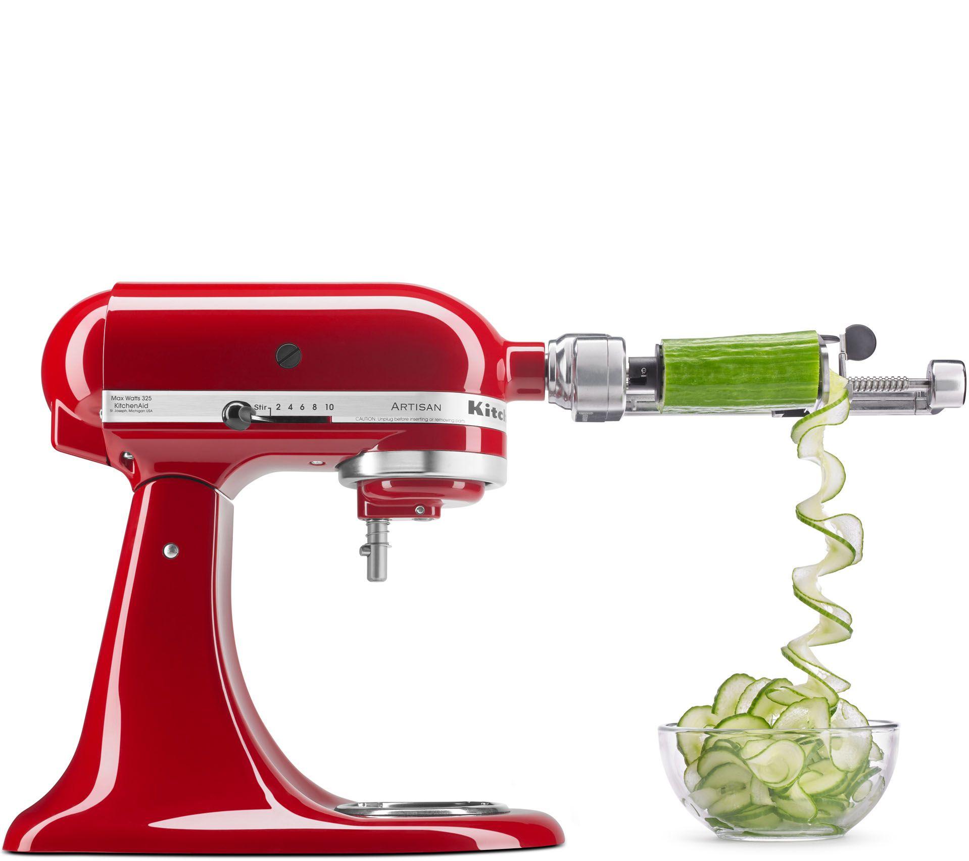 Kitchenaid Attachments Spiralizer Kitchenaid Spiralizer Attachment With Peel Core & Slice  Page 1
