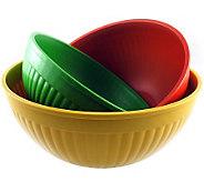 Nordic Ware 3-piece Prep and Serve Bowl Set - K129673