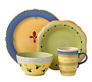 Pfaltzgraff 16-piece Dinnerware Set - PistouletBlue - K132773