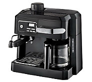 DeLonghi 3-in-1 Coffee Machine w/ ProgrammableTimer - K301473