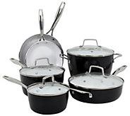 Oneida 10-Piece Forged Aluminum Cookware Set -Black - K305073