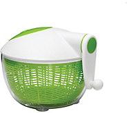 Starfrit Green & White Salad Spinner - K374973