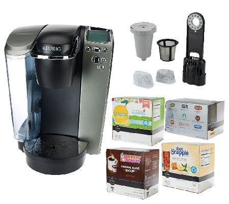 Keurig K79 Platinum Plus Coffee Maker w/58 K-Cup Packs, My QVC.com