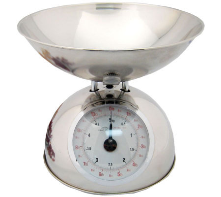 Starfrit Analog Kitchen Scale w/ Stainless Steel Bowl
