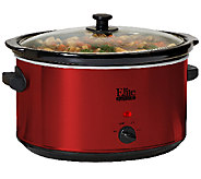 Elite Platinum 8.5-qt Stainless Steel Slow Cooker - K302974