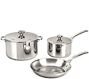 Le Creuset Stainless Steel 5-Piece Cookware Set - K303574