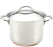 Anolon Nouvelle Copper Stainless Steel 6-1/2-qtStockpot - K305974