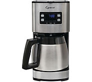 Capresso ST300 12-Cup Stainless Steel Coffee Maker - K306474