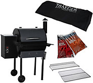 Traeger Lone Star Elite 525 sq. in. Wood Fired Grill & Smoker - K43474