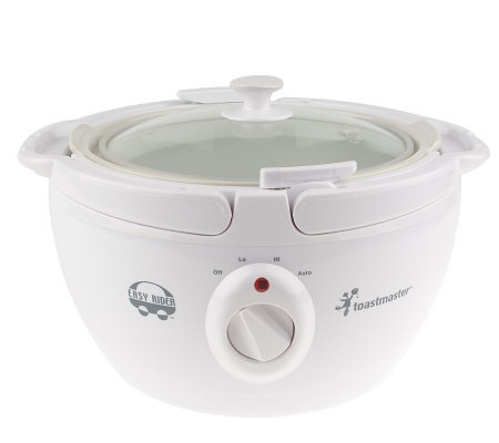 Toastmaster 4qt Portable Slow Cooker