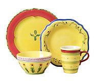 Pfaltzgraff 16-piece Dinnerware Set - Pistoulet - K132775