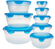 Lock & Lock 8 piece Nesting Bowl Set - K43375