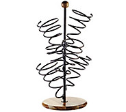 Gourmet Basics by Mikasa Spiral 6-Bottle Wine Rack - K304776