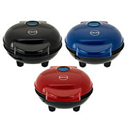 As Is Yes Chef! Set of 3 Personal Griddles with Gift Boxes - K307676